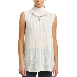 MATHILDE KNIT HIGH NECK JUMPER Ivory Sweater